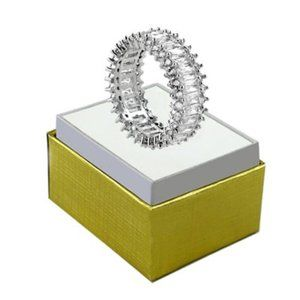 WGP Baguette Infinity Ring, size 6